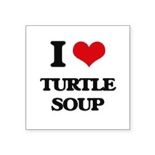 """Unique Love soup Square Sticker 3"""" x 3"""""""