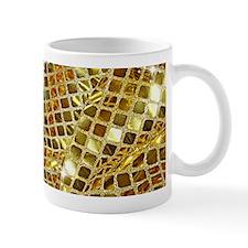 Gold Sparkling Sequin Glitter Mugs