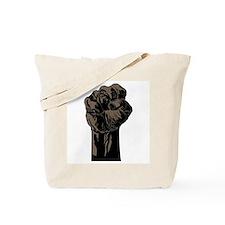 The Black Fist Tote Bag