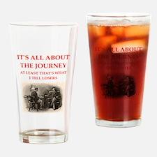 221b joke Drinking Glass