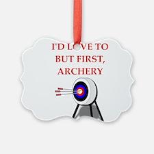 archery joke Ornament