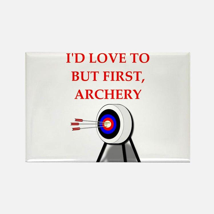 archery joke Magnets