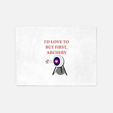 archery joke 5'x7'Area Rug