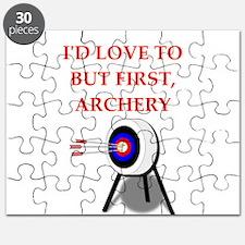 archery joke Puzzle