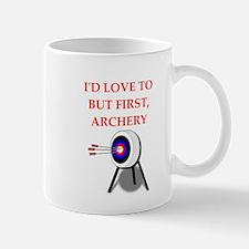 archery joke Mugs