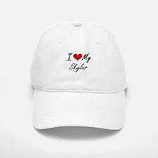 I Love My Skylar Baseball Baseball Cap