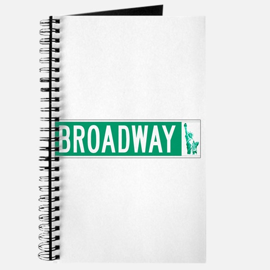 Broadway (with Statue of Liberty), NYC Journal