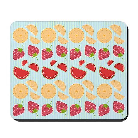 Modern Fruit Art Mousepad