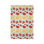 Modern Fruit Art Rectangle Magnet (100 pack)
