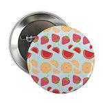 """Modern Fruit Art 2.25"""" Button (10 pack)"""