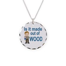 Cool Joey Necklace Circle Charm