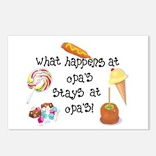 What Happens at Opa's... Postcards (Package of 8)
