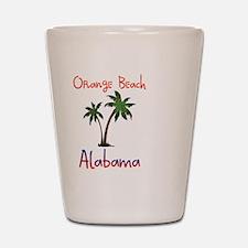 Orange Beach Alabama Shot Glass