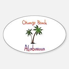 Orange Beach Alabama Decal