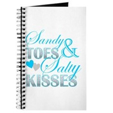 sandy toes salty kisses Journal