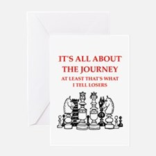 chess joke Greeting Cards