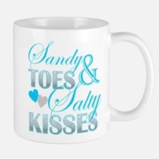 sandy toes salty kisses Mugs