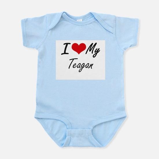 I Love My Teagan Body Suit