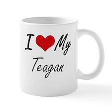 I Love My Teagan Mugs