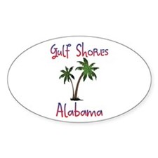 Gulf Shores Alabama Decal