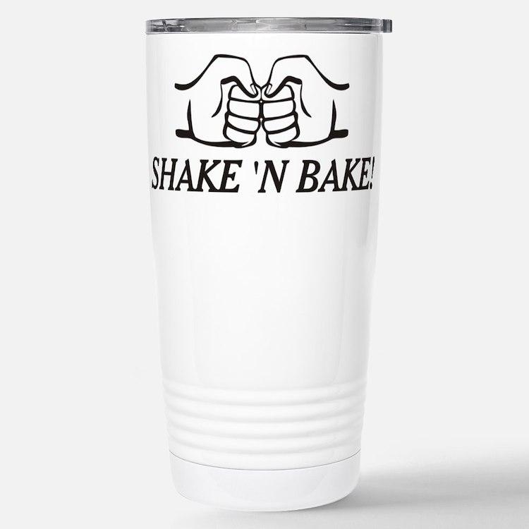 Cute Shake n bake Travel Mug