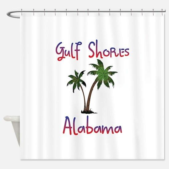 Gulf Shores Alabama Shower Curtain