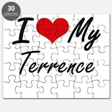 I Love My Terrence Puzzle