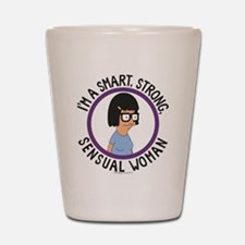 Bob's Burgers Tina Sensual Woman Shot Glass