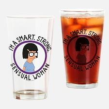 Bob's Burgers Tina Sensual Woman Drinking Glass