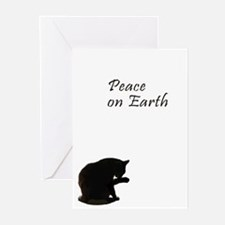 Christmas and Cats Greeting Cards (Pk of 20)