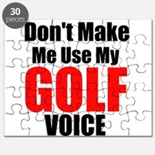 Dont Make Me Use My Golf Voice Puzzle