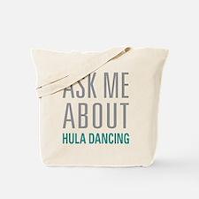 Hula Dancing Tote Bag