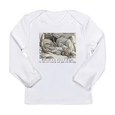 Cute Dragons Long Sleeve Infant T-Shirt
