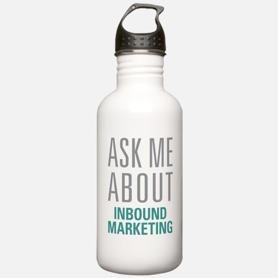 Inbound Marketing Water Bottle