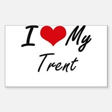 I Love My Trent Decal