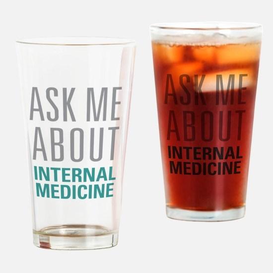 Internal Medicine Drinking Glass