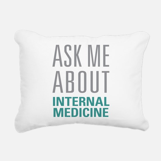 Internal Medicine Rectangular Canvas Pillow