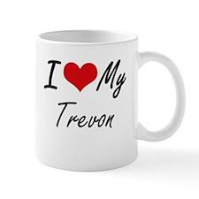 I Love My Trevon Mugs