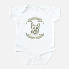 Canaan Dog Infant Bodysuit