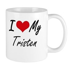I Love My Tristen Mugs