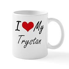 I Love My Trystan Mugs