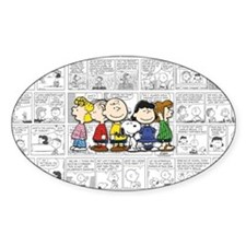 The Peanuts Gang Decal