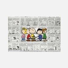 The Peanuts Gang Rectangle Magnet