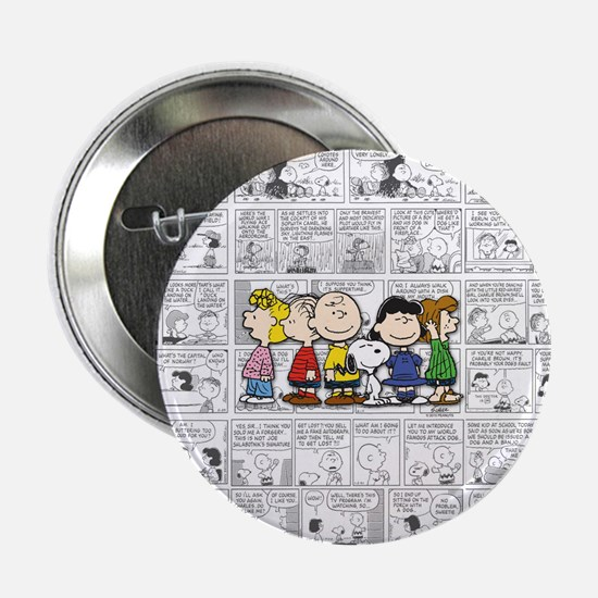 "The Peanuts Gang 2.25"" Button"