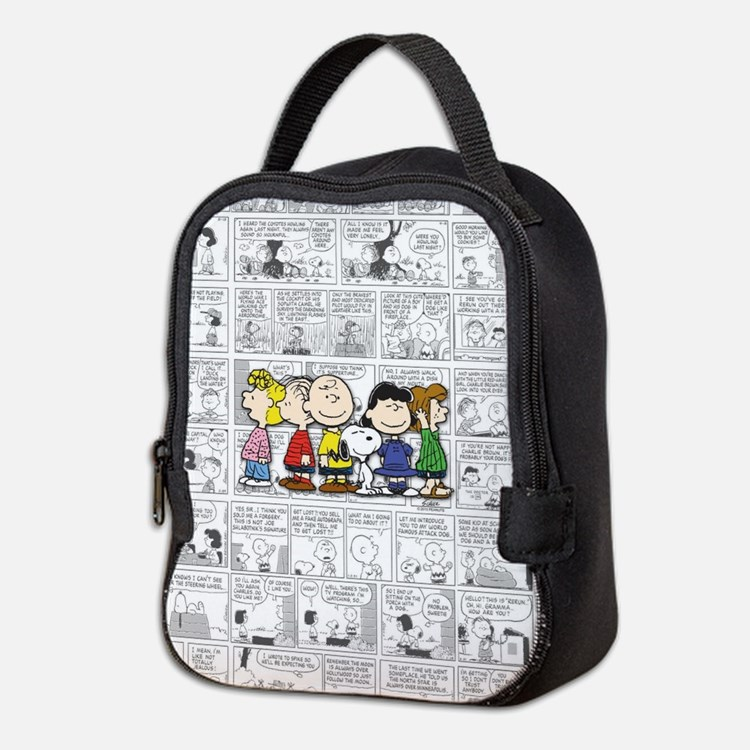 The Peanuts Gang Neoprene Lunch Bag