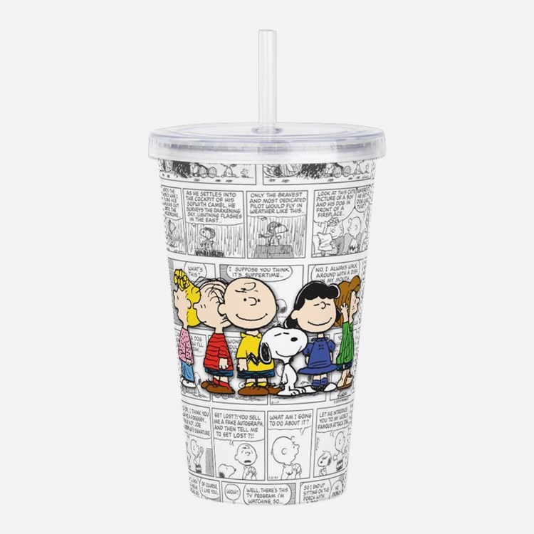 The Peanuts Gang Acrylic Double-wall Tumbler