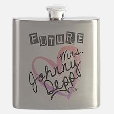 Future Mrs. Johnny Depp Flask