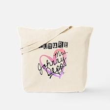 Future Mrs. Johnny Depp Tote Bag