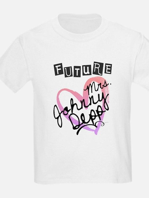 Future Mrs. Johnny Depp T-Shirt