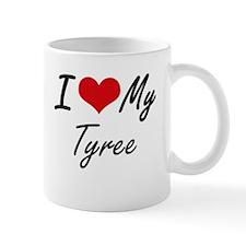 I Love My Tyree Mugs